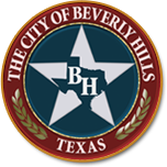 The city of Beverly Hills - Texas - Logo